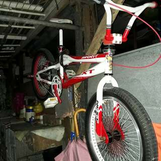Next bmx bike price negotiable.