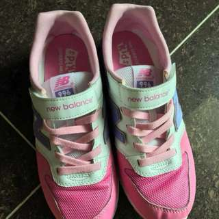 🇭🇰 香港 New balance 童裝 38 成人尺寸 魔術貼 波鞋 sneakers