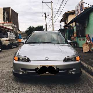 Honda civic ESI stock hood