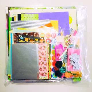 Scrapbook grab bag [Customer's order]