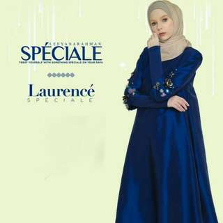 Leeyana Rahman Laurencè Speciale in Royal Blue