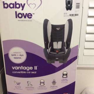 Baby love car seats used for 10 days