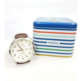 New Authentic Fossil Old School Watch For Man