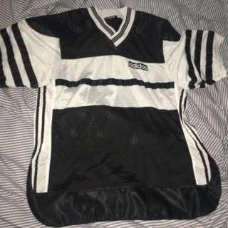 Adidas Oversized Mesh Football Shirt