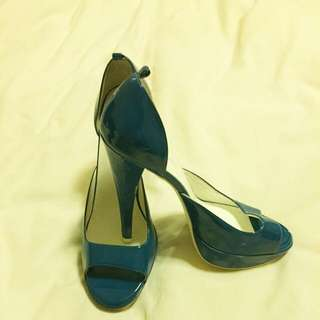Aldo shoes size 7 blue