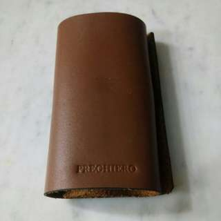 Preghiero Leather Pouch for Powerbank and Cables