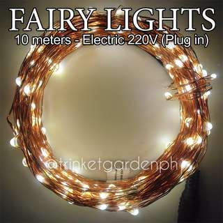 Fairy Pixie String Lights 10 meters Plug-in (220V)