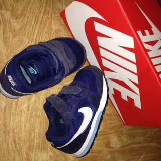 NIKE AIR KIDS NAVY AUTHENTIC