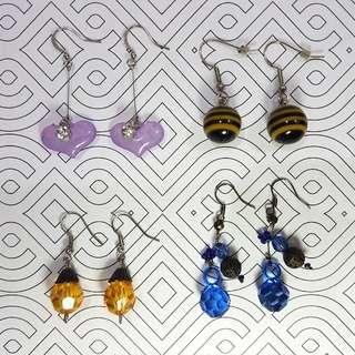 Bunch of Earrings Set F