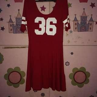 H&M Varsity Dress