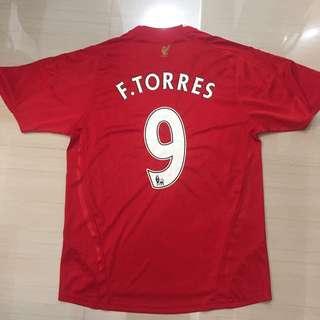 Liverpool Fernando Torres Soccer Jersey