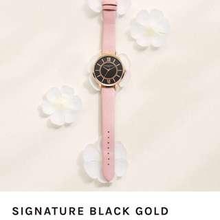 Olivine Paris signature black gold (Pink)