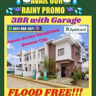 House and lot by Ayala Land Amaia Series Townhouse in Novaliches Quezon City