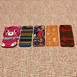 5pcs Iphone5/5s Cases