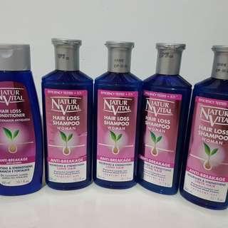 Natur Vital Shampoo & Conditioner for Hair Loss