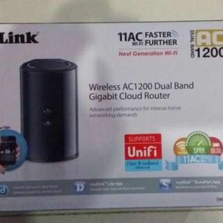 D Link AC 120 Dual Band Router