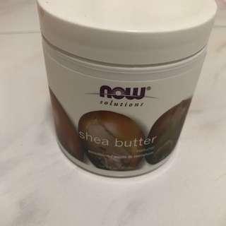 NOW Shea Butter Moisturiser Cream