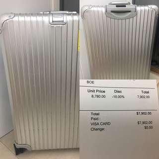 Rimowa行李箱30寸