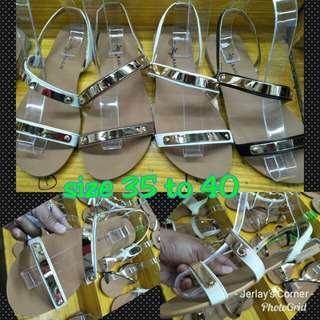 Hardsole Falt Sandals