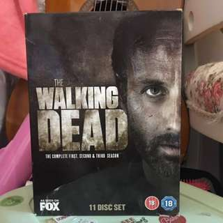 The Waking Dead DVD Two Set
