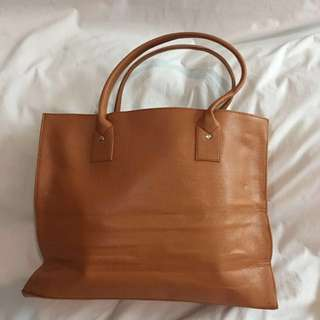 Light Brown Big Bag