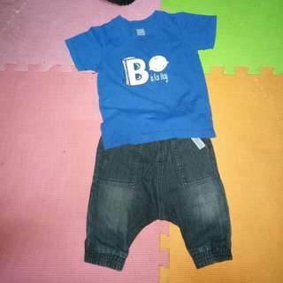 Sold as set! Bebe tshirt & bebe pants!