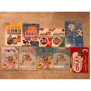 Primary 3 Chinese Textbooks, Activity books, Dictionary and Assesments