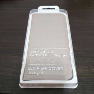 [BNIB] Samsung S8+ LED View Cover - Gold