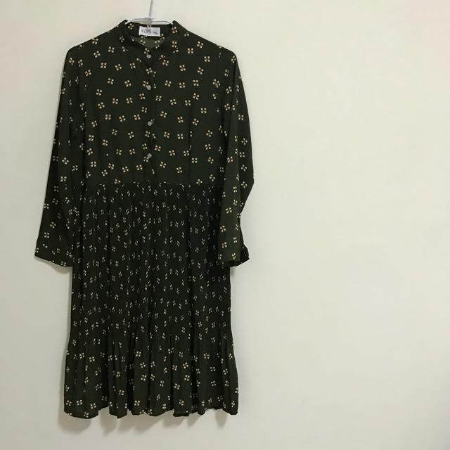 古著襯衫裙