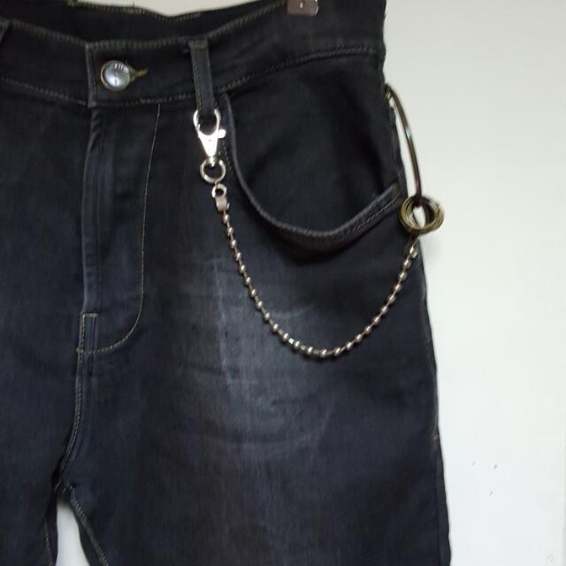 鐵珠腰鏈鑰匙圈