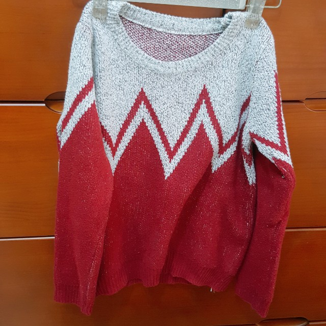冬季針織長袖上衣