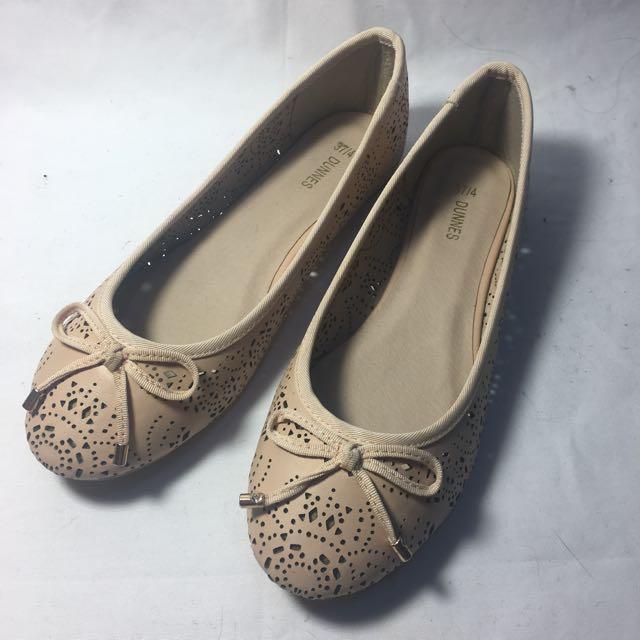 優雅知性蝴蝶結平底鞋