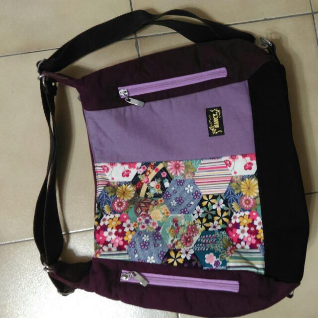 日本花布 拼布包