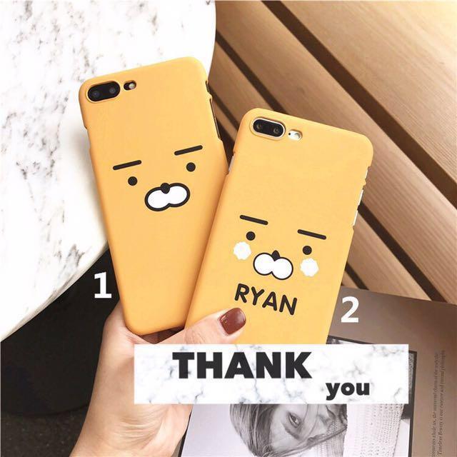 韓國手機殼 鬍子 表情 iPhone 6 6s i7 7plus