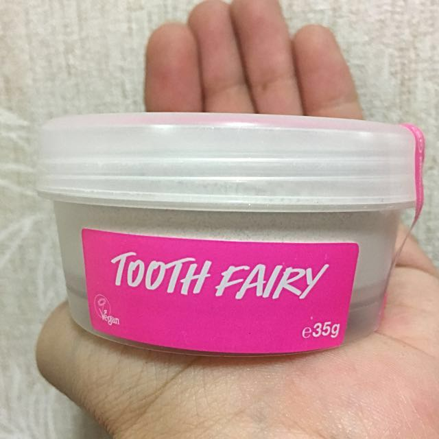 英國🇬🇧代購 · LUSH 潔牙粉 35g