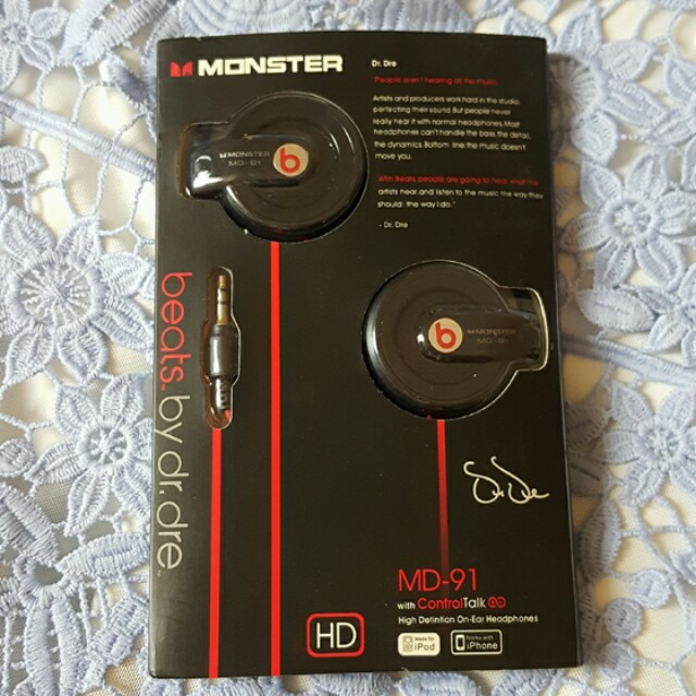 [SALE!! & NEW] BEATS Headphone Monster MD-91