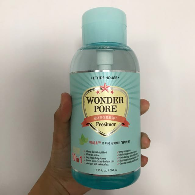 (✔️📦) Etude House Wonder Pore Toner 500ml
