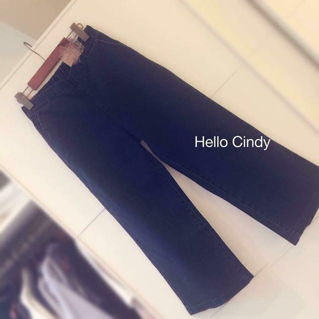 轉賣 正韓牛仔寬褲#Hello Cindy