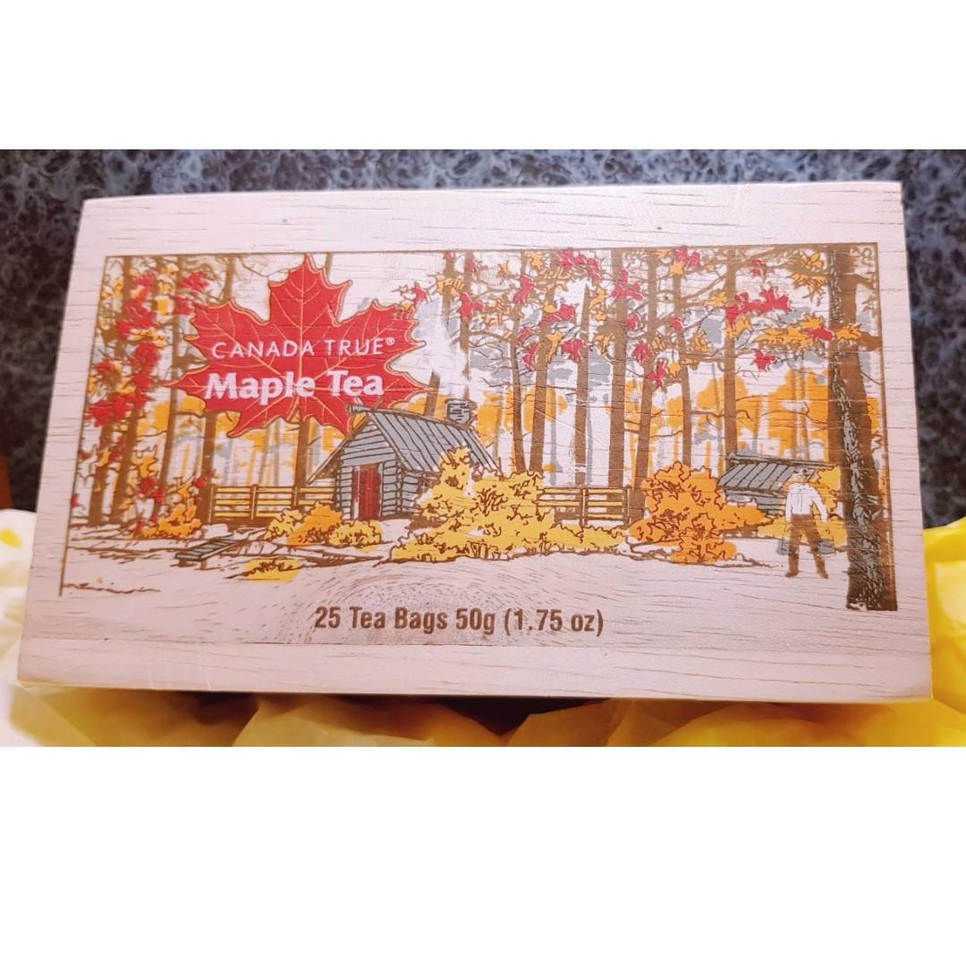 【義大利購物趣】加拿大 Maple Tea 楓葉茶 茶包 Canada true