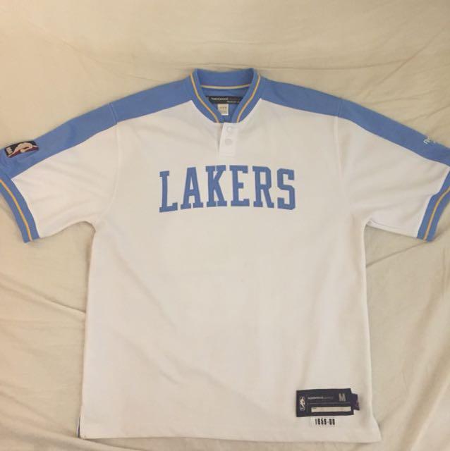 古著 NBA Reebok Lakers 湖人隊 練習衣