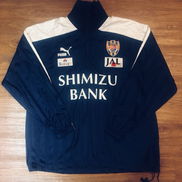 古著 PUMA 日本 清水 銀行 SHIMIZU BANK 薄 外套