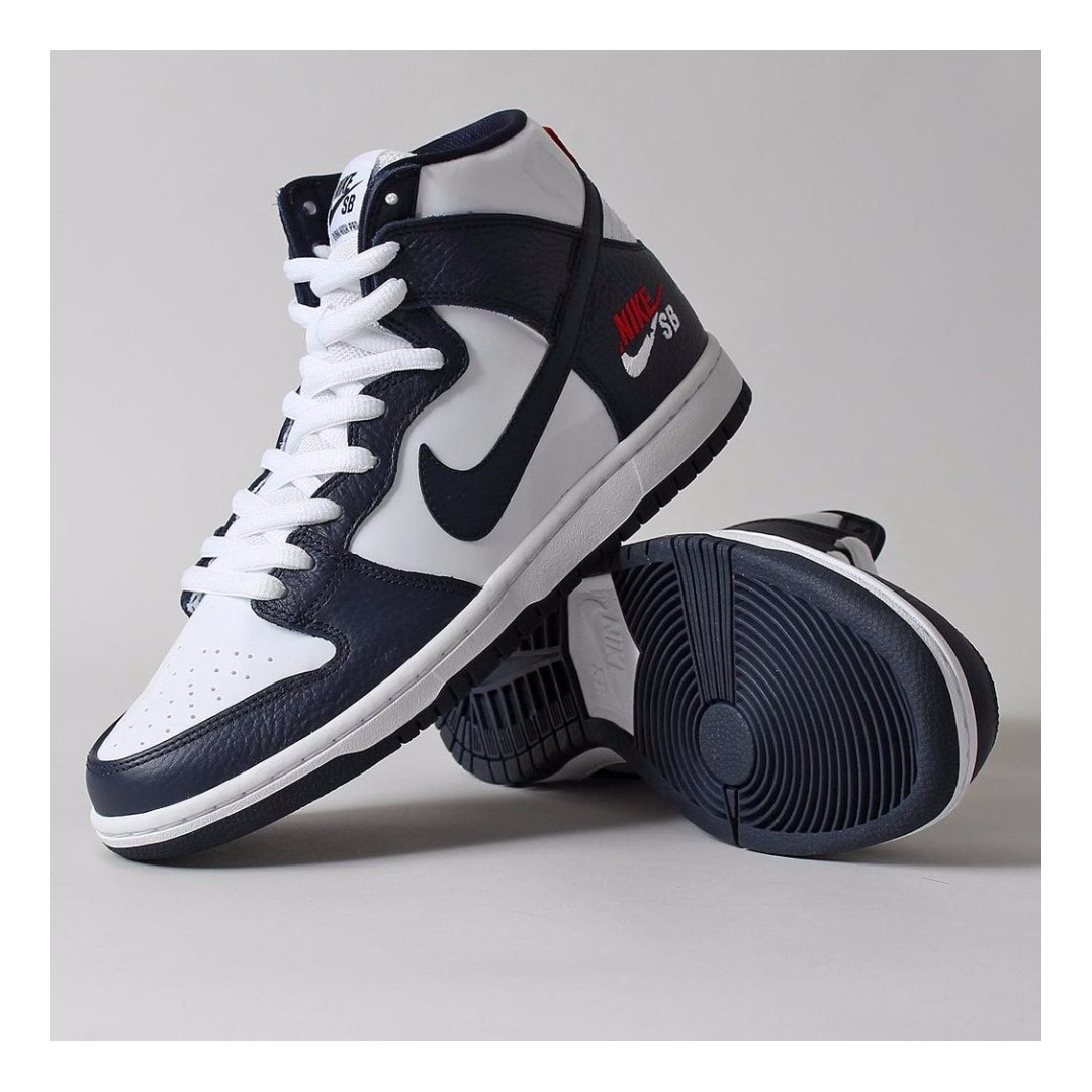 311a3d94741 ( XMAS PROMO ) NIKE SB ZOOM DUNK HIGH PRO SHOES – OBSIDIAN/OBSIDIAN/WHITE/UNIVERSITY  RED/METALLIC GOLD, Men's Fashion, Footwear, Sneakers on Carousell