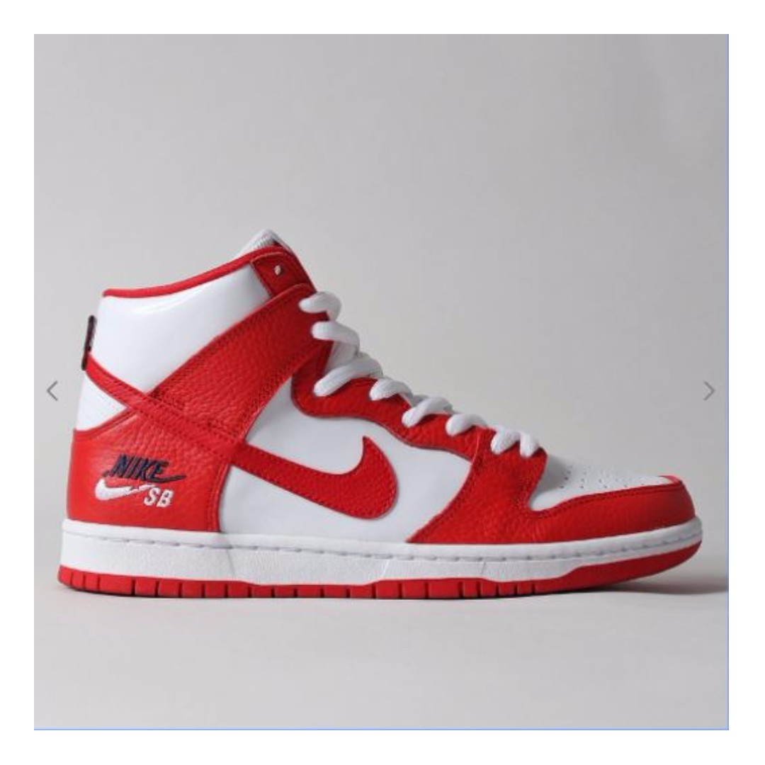 meet 9ff14 c48f4 XMAS PROMO ) NIKE SB ZOOM DUNK HIGH PRO SHOES – UNIVERSITY R