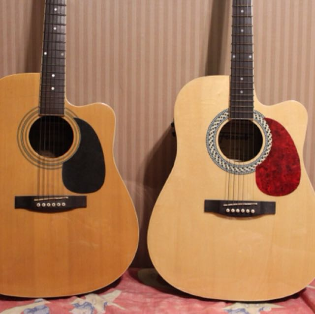 Acoustic Guitars (Fernando and Rockstar)