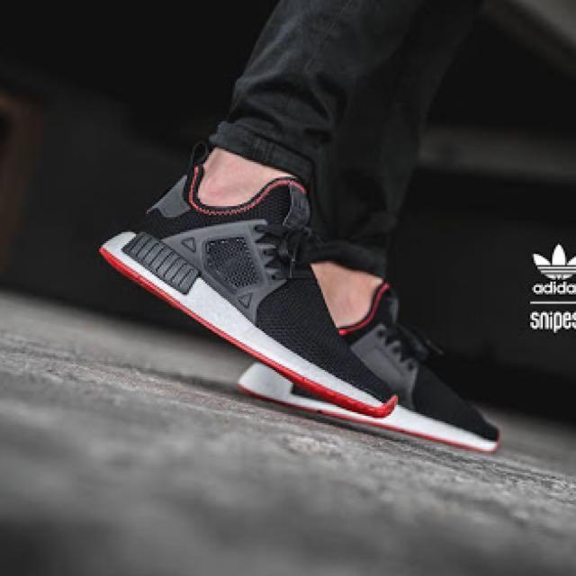 7f704a7c Adidas NMD XR1 Contrast Stitch Black, Olshop Fashion, Olshop Pria on ...