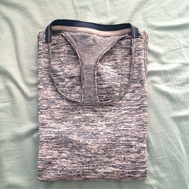Adidas running women's singlet vest authentic