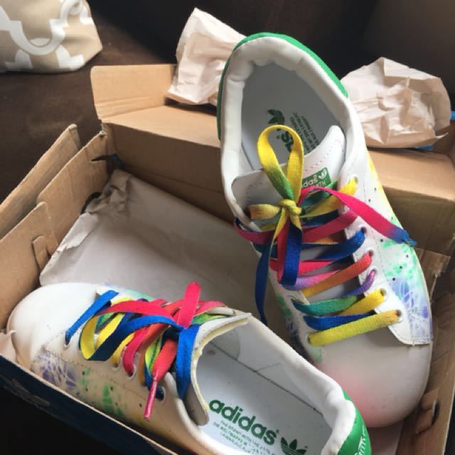 Adidas Stan Smith Rainbow 6.5