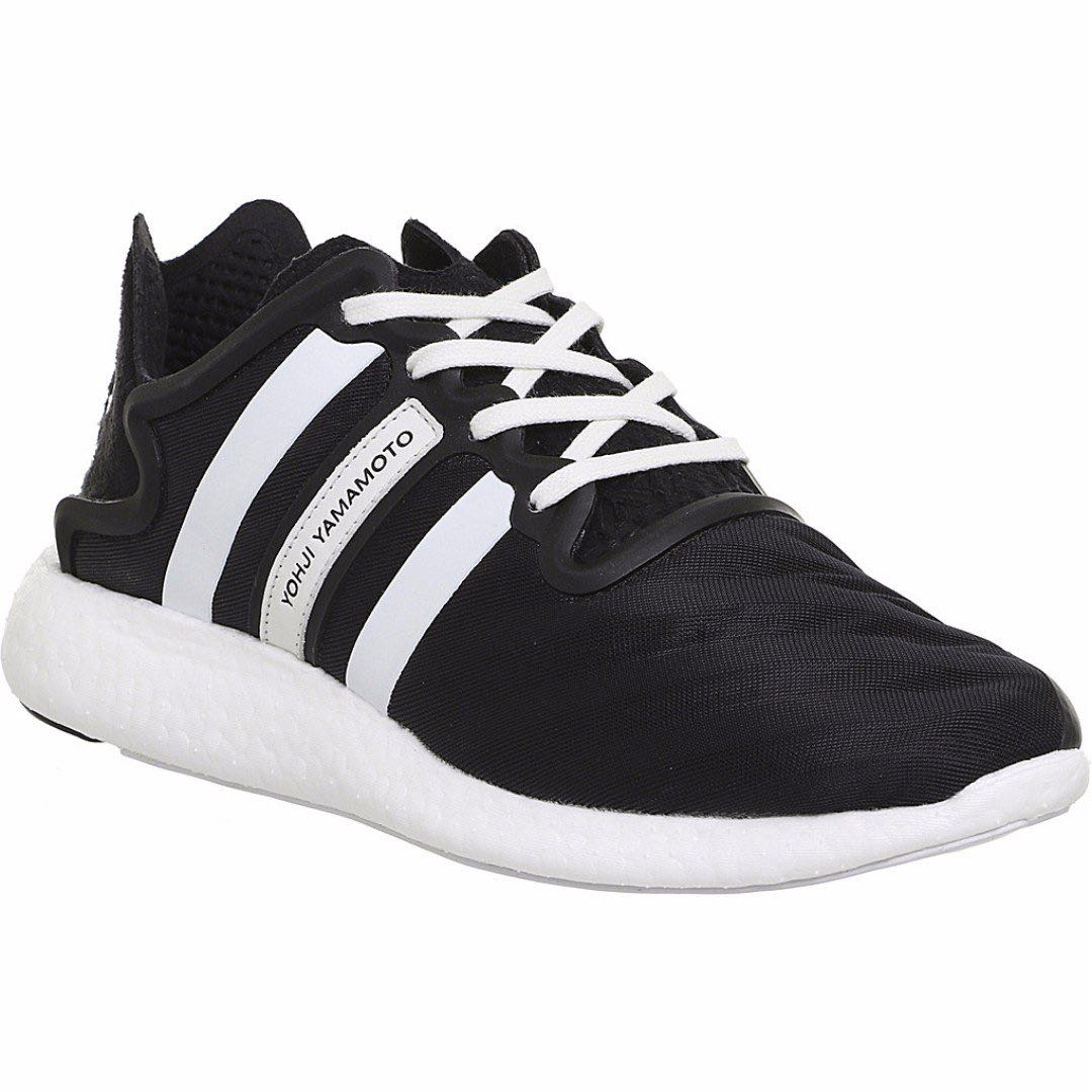 ADIDAS Y3 Yohji Run trainers 運動情侶鞋 黑白