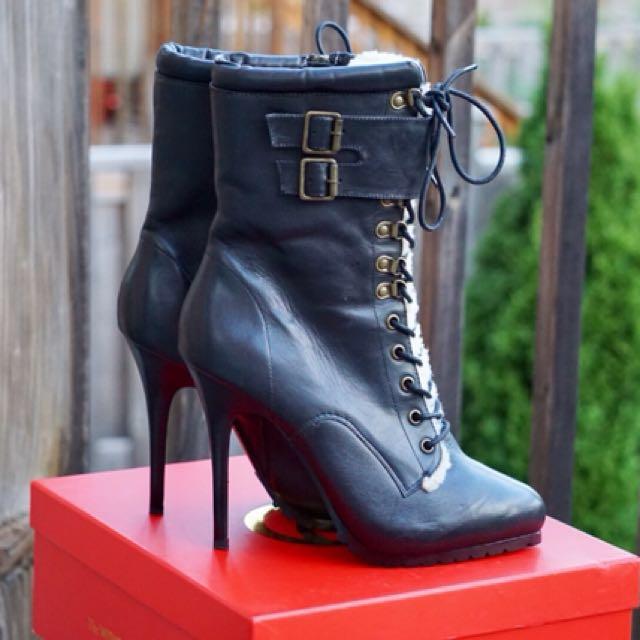 ALDO Leather Booties Sz.9