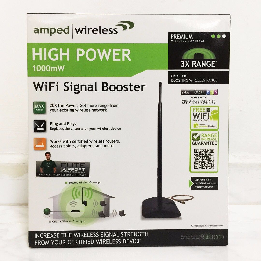 Amped Wireless, TP-Link, EnGenius, Wireless Router, Access Point, WIFI Antenna, Booster, High Power Antenna